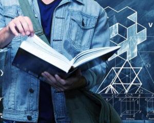 Gymnasiematte och kunskapsnivåer. Det handlar om att vi i och med att vi tar ett steg upp för en kunskapstrappa får en bättre förståelse för det föregående steget.