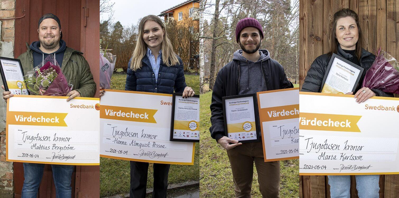 Borlänge-Faluföretagens högskolestipendium